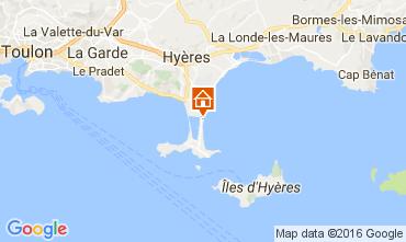 Mapa Hyères Vivenda 106297