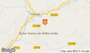 Mapa Flumet Val d'Arly Apartamentos 80441