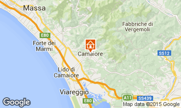 Mapa Camaiore Vivenda 89258