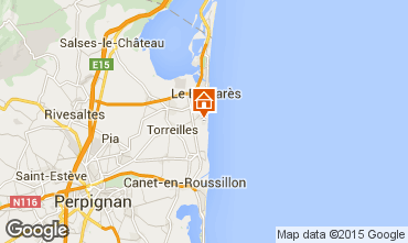 Mapa Torreilles Vivenda 93703