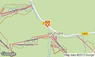 Mapa Val d'Isère Apartamentos 50921
