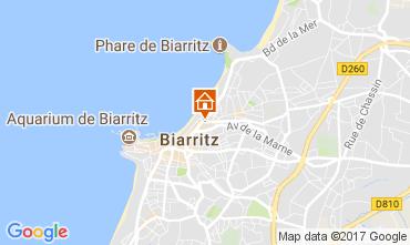 Mapa Biarritz Apartamentos 112357
