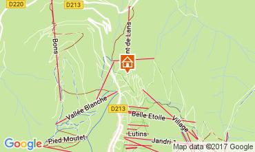 Mapa Les 2 Alpes Estúdio 100442