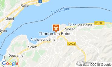Mapa Thonon Les Bains Apartamentos 114583