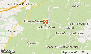 Mapa Le Mont Dore Apartamentos 91221