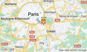 Mapa PARIS Apartamentos 13776