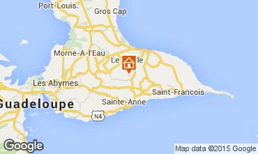 Mapa Sainte Anne (Guadalupe) Bungalow 85846