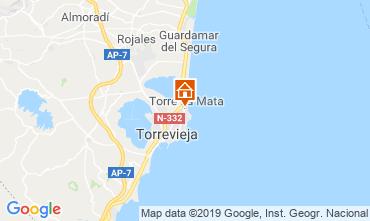 Mapa Torrevieja Apartamentos 117796