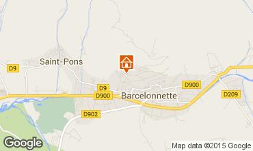 Mapa Barcelonnette Apartamentos 2312