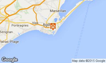 Mapa Cap d'Agde Estúdio 6208
