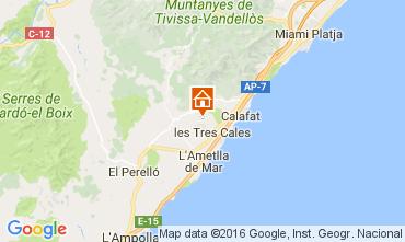 Mapa La Ametlla de Mar Vivenda 107484