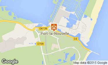 Mapa Port La Nouvelle Est�dio 6309