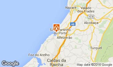 Mapa São Martinho do Porto Apartamentos 102487