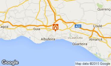 Mapa Albufeira Vivenda 70524