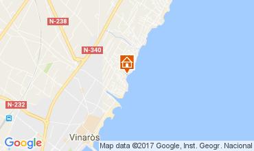 Mapa Vinar�s Apartamentos 11346