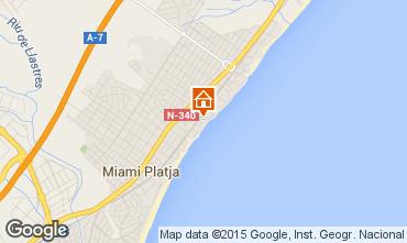 Mapa Miami Playa Apartamentos 75297