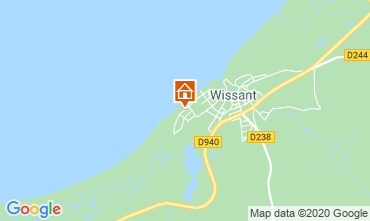 Mapa Wissant Vivenda 106031