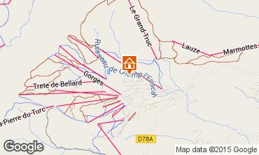 Mapa La Toussuire Estúdio 66173