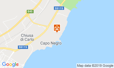 Mapa Avola Vivenda 113727