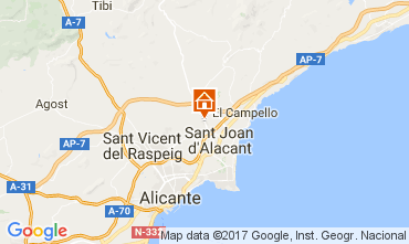 Mapa Alicante Vivenda 112666
