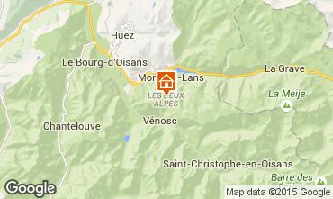 Mapa Les 2 Alpes Est�dio 91147