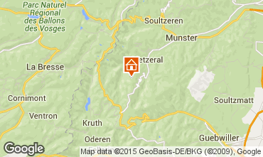 Mapa Munster Casa de turismo rural/Casa de campo 94043