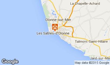 Mapa Les  Sables d'Olonne Apartamentos 84878