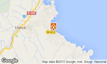 Mapa Llan�a Apartamentos 93359