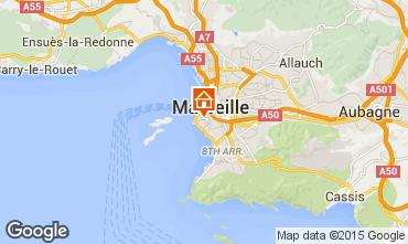 Mapa Marselha Apartamentos 101206