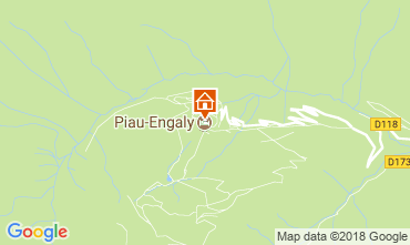 Mapa Piau Engaly Apartamentos 4387
