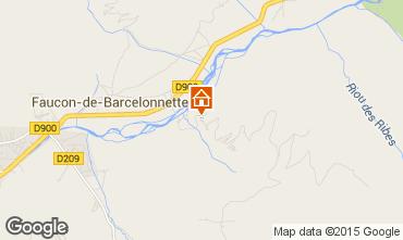 Mapa Barcelonnette Chal� 96750