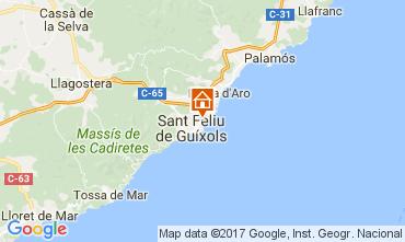 Mapa S'Agaró Apartamentos 109160