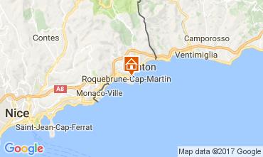 Mapa Roquebrune Cap Martin Apartamentos 81034