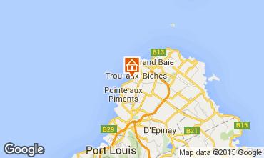 Mapa Trou-aux-biches Bungalow 28556