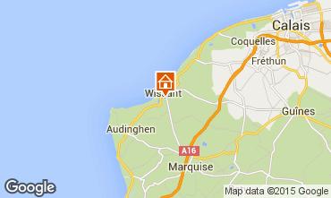 Mapa Wissant Casa 87766