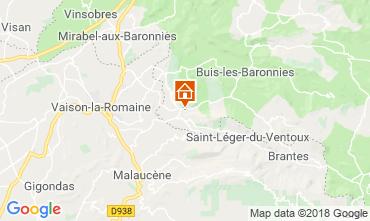 Mapa Vaison la Romaine Casa 115901