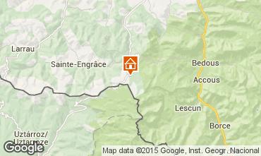 Mapa Arette La Pierre Saint Martin Est�dio 14532