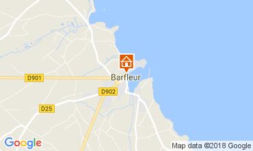 Mapa Barfleur Casa de turismo rural/Casa de campo 113106