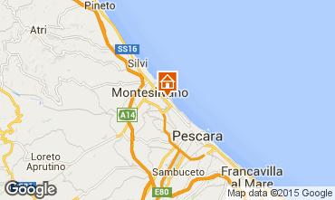 Mapa Montesilvano Marina Estúdio 78015