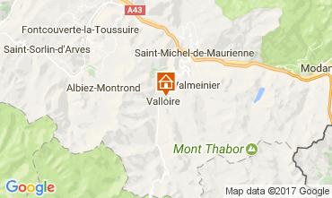 Mapa Valloire Apartamentos 80541