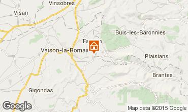Mapa Vaison la Romaine Vivenda 82681