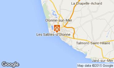 Mapa Les  Sables d'Olonne Apartamentos 59909