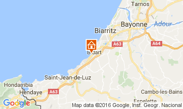 Mapa Biarritz Apartamentos 67637