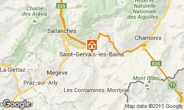 Mapa Saint-Gervais-les-Bains Apartamentos 74408