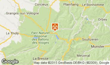 Mapa Gérardmer Chalé 4601