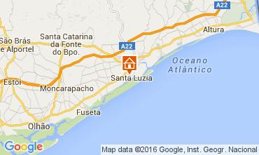 Mapa Tavira Apartamentos 103879