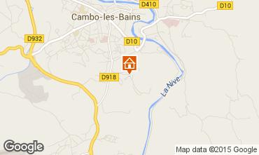 Mapa Cambo les Bains Apartamentos 101824