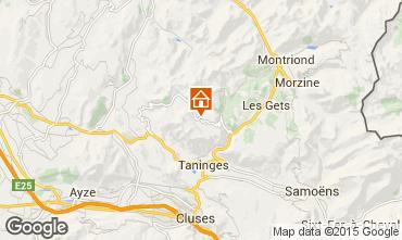 Mapa Praz de Lys Sommand Apartamentos 58063