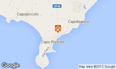 Mapa Isola di Capo Rizzuto Apartamentos 68139