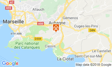 Mapa Carnoux-en-Provence Apartamentos 116996